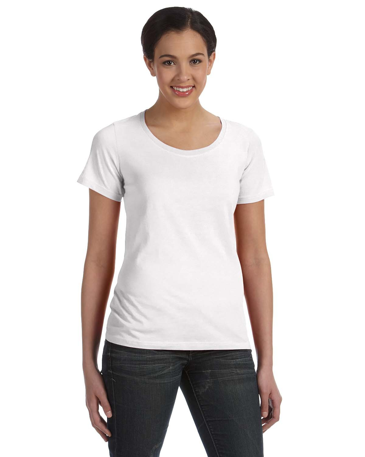 Ladies' Featherweight Scoop T-Shirt