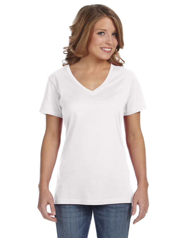 Ladies' Featherweight V-Neck T-Shirt