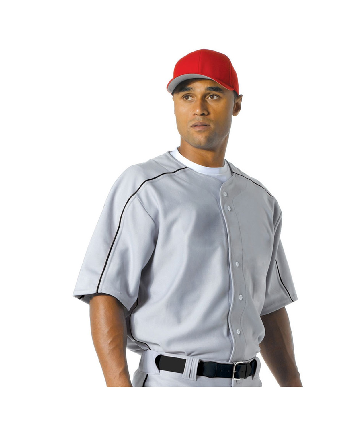 Men''s Warp Knit Baseball Jersey