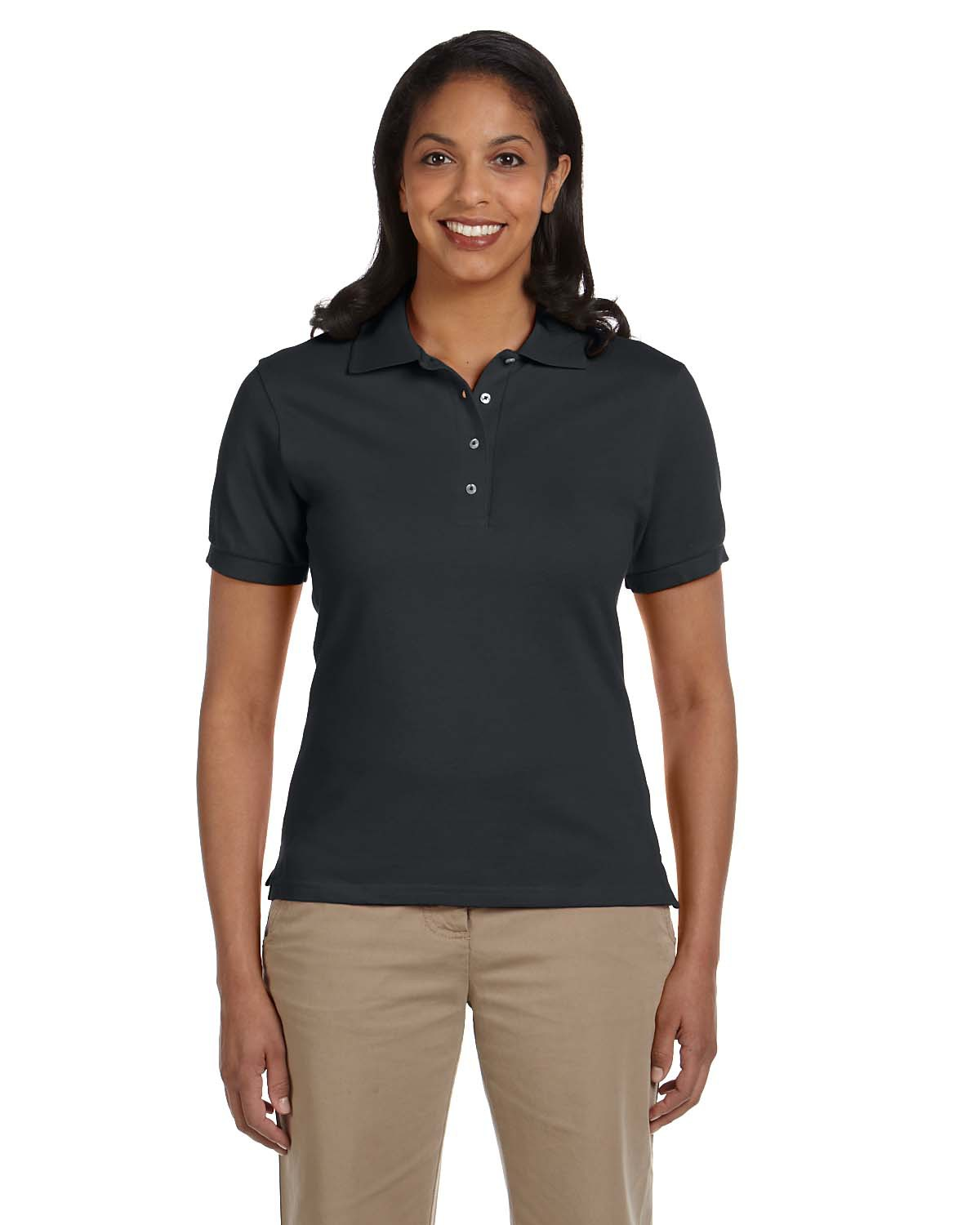 Ladies' 6.5 oz. Ringspun Cotton Piqué Polo