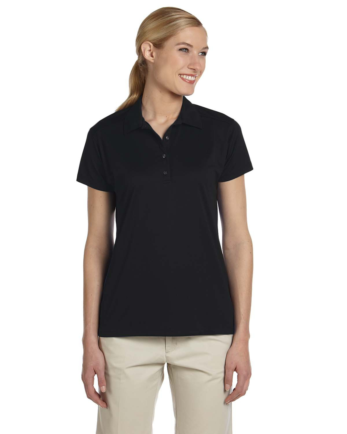 Ladies' 4.1 oz. 100% Polyester Mesh Sport with Moisture-Wicking Polo