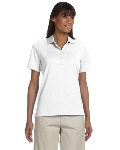Ladies' High Twist Cotton Tech Polo