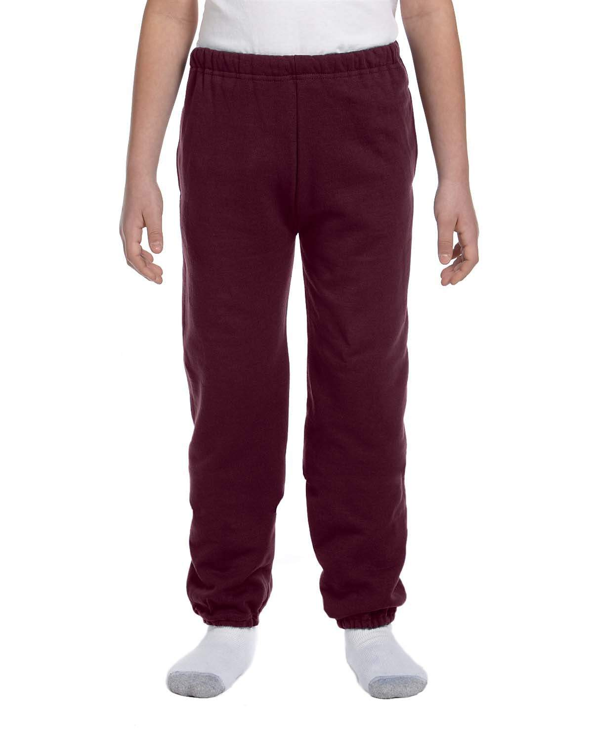 Youth 9.5 oz. Super Sweats NuBlend Fleece Pocketed Sweatpants