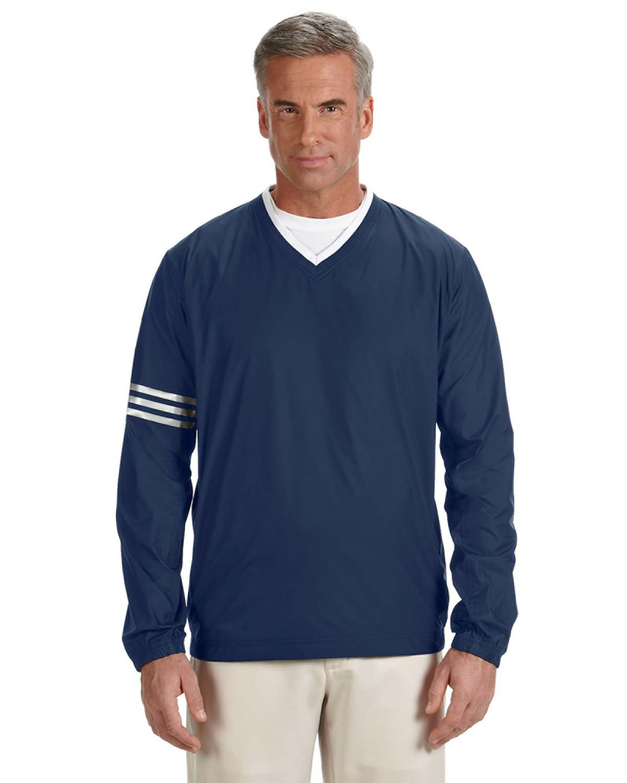 Men's climalite Colorblock V-Neck Wind Shirt