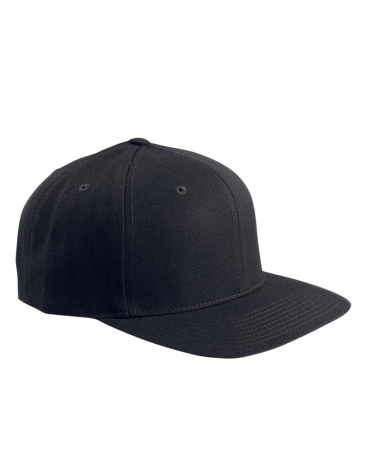 Adult 6-Panel Structured Flat Visor Classic Snapback