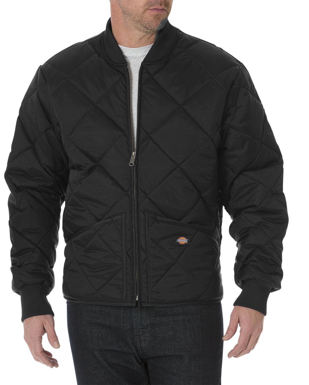 Unisex Diamond Quilted Nylon Jacket