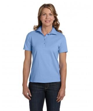 Ladies' 7 oz. ComfortSoft Cotton Piqué Polo