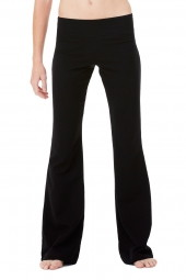 Ladies' Cotton/Spandex Fitness Pant