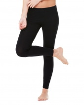 Ladies' Cotton/Spandex Legging