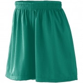 Girls Tricot Mesh Short/Tricot Lined