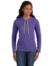 Heather Purple/Neon Yellow