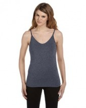 Ladies' Cotton/Spandex Shelf Bra Tank