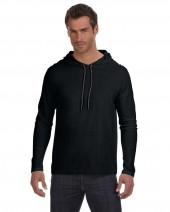 Adult Lightweight Long-Sleeve Hooded T-Shirt