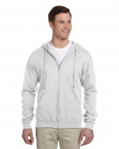 Adult 8 oz. NuBlend® Fleece Full-Zip Hood