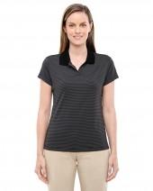 Ladies' ClimaLite Classic Stripe Short-Sleeve Polo