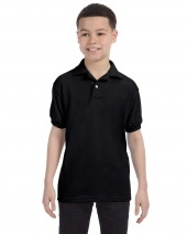 Youth 5.2 oz. 50/50 EcoSmart® Jersey Knit Polo