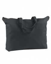 Canvas Zippered Book Tote 12 oz.