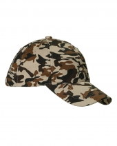Cotton Unstructured Camo Cap