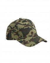 Cotton Structured Camo Hat