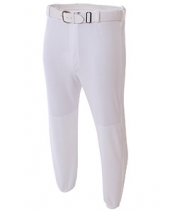 Adult Double Play Polyester Baseball Pant with Elastic Waist and Belt Loops