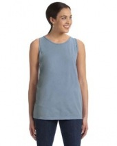 Ladies' 5.6 oz. Pigment-Dyed & Direct-Dyed Ringspun Tank