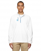 Men's puremotion Mixed Media Quarter-Zip