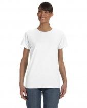 Ladies' Midweight Ringspun T-Shirt