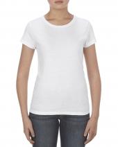Missy 4.3 oz., Ringspun Cotton T-Shirt