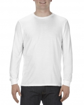 Adult 4.3 oz., Ringspun Cotton Long-Sleeve T-Shirt