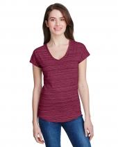 Ladies' Streak V-Neck T-Shirt