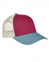 Tri-Color Trucker Cap