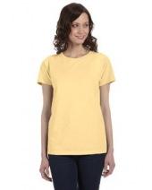 Ladies' 5.6 oz. Pigment-Dyed & Direct-Dyed Ringspun T-Shirt