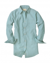 Ladies' Classic Chambray Long-Sleeve Shirt