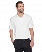 CrownLux Performance Men's Plaited Polo