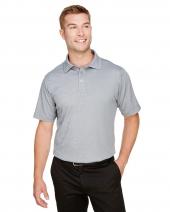 CrownLux Performance™ Men's Address Melange Polo