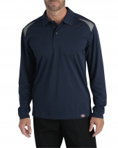 Men's Long-Sleeve Performance Polo