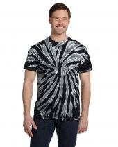 Adult 5.4 oz., 100% Cotton Twist Tie-Dyed T-Shirt