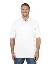 Adult 6.5 oz. Premium 100% Ringspun Cotton Piqué Polo