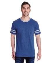 Adult 4.5 oz. TRI-BLEND Varsity Ringer T-Shirt