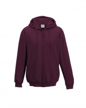 Men's 80/20 Midweight College Full-Zip Hooded Sweatshirt