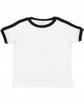 Toddler Soccer Ringer Fine Jersey T-Shirt