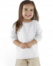 Toddler Long-Sleeve Fine Jersey T-Shirt