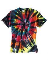 Youth Rainbow Cut Spiral T-Shirt