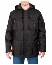 Men's Tall Modern Work Cut & Shoot Hooded Coat