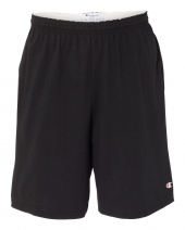"9"" Inseam Cotton Jersey Shorts with Pockets"