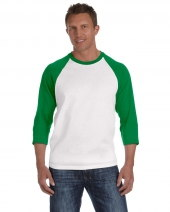Heavyweight Raglan 3/4-Sleeve T-Shirt