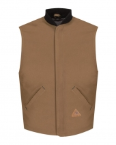 Brown Duck Vest Jacket Liner - EXCEL FR® ComforTouch