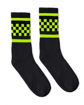 Checker Crew Sock