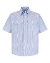 Deluxe Short Sleeve Uniform Shirt Long Sizes