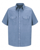 Deluxe Western Style Short Sleeve Shirt